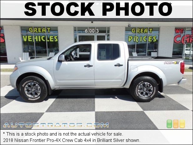 Stock photo for this 2017 Nissan Frontier SV Crew Cab 4x4 4.0 Liter DOHC 24-Valve CVTCS V6 5 Speed Automatic