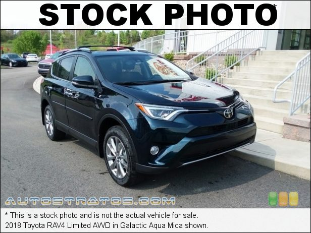 Stock photo for this 2018 Toyota RAV4 Limited AWD 2.5 Liter DOHC 16-Valve Dual VVT-i 4 Cylinder 6 Speed ECT-i Automatic