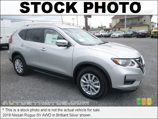 Stock photo for this 2018 Nissan Rogue SV AWD 2.5 Liter DOHC 16-Valve CVTCS 4 Cylinder Xtronic CVT Automatic