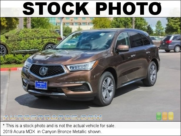 Stock photo for this 2019 Acura MDX  3.5 Liter SOHC 24-Valve i-VTEC V6 9 Speed Automatic