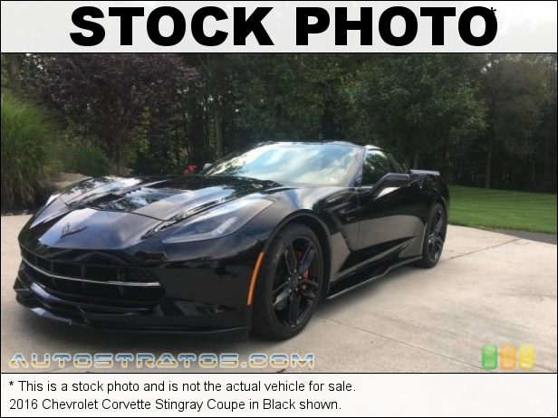 Stock photo for this 2019 Chevrolet Corvette Stingray Coupe 6.2 Liter DI OHV 16-Valve VVT LT1 V8 8 Speed Automatic