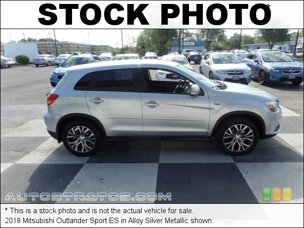 Stock photo for this 2018 Mitsubishi Outlander Sport ES 2.0 Liter DOHC 16-Valve MIVEC 4 Cylinder CVT Automatic