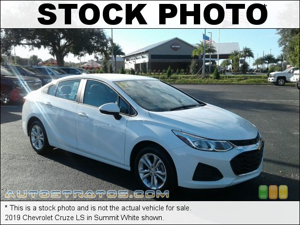 Stock photo for this 2019 Chevrolet Cruze LS 1.4 Liter Turbocharged DOHC 16-Valve VVT 4 Cylinder 6 Speed Automatic