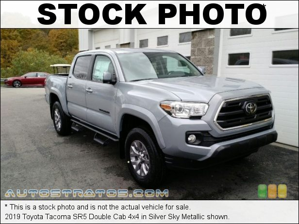 Stock photo for this 2019 Toyota Tacoma Double Cab 4x4 3.5 Liter DOHC 24-Valve VVT-i V6 6 Speed Automatic