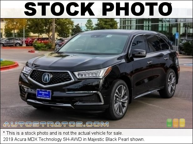 Stock photo for this 2019 Acura MDX Technology SH-AWD 3.5 Liter SOHC 24-Valve i-VTEC V6 9 Speed Automatic