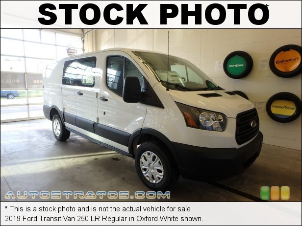 Stock photo for this 2016 Ford Transit 250 Van XL LR Regular 3.7 Liter DOHC 24-Valve Ti-VCT V6 6 Speed SelectShift Automatic