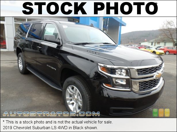 Stock photo for this 2020 Chevrolet Suburban LS 4WD 5.3 Liter DI OHV 16-Valve EcoTech3 VVT V8 6 Speed Automatic