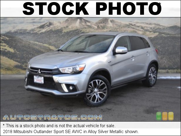 Stock photo for this 2018 Mitsubishi Outlander Sport SE AWC 2.4 Liter DOHC 16-Valve MIVEC 4 Cylinder CVT Automatic
