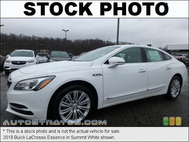 Stock photo for this 2019 Buick LaCrosse Essence 2.5 Liter DOHC 16-Valve VVT 4 Cylinder 6 Speed Automatic