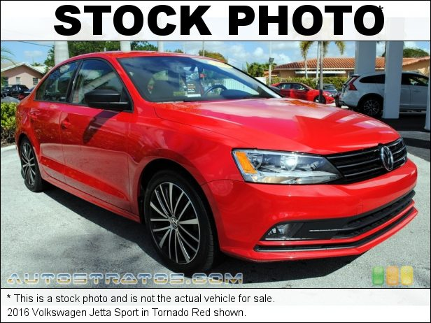 Stock photo for this 2017 Volkswagen Jetta Sport 1.8 Liter TSI Turbocharged DOHC 16-Valve VVT 4 Cylinder 6 Speed Tiptronic Automatic