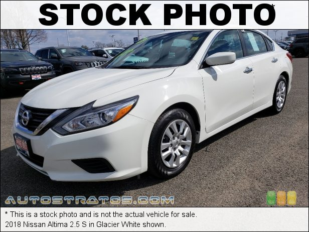 Stock photo for this 2017 Nissan Altima 2.5 S 2.5 Liter DOHC 16-Valve CVTCS 4 Cylinder Xtronic CVT Automatic