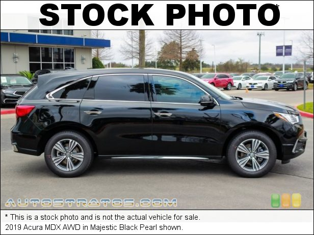 Stock photo for this 2019 Acura MDX AWD 3.5 Liter SOHC 24-Valve i-VTEC V6 9 Speed Automatic