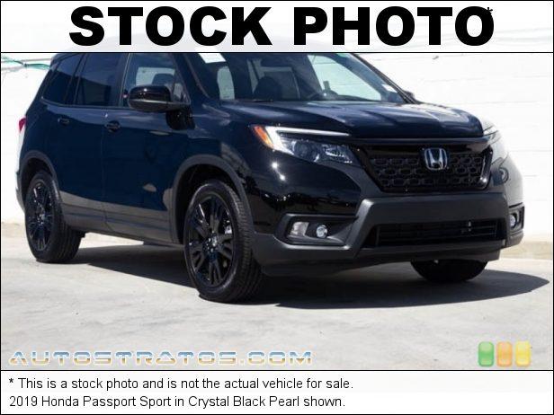 Stock photo for this 2019 Honda Passport Sport 3.5 Liter SOHC 24-Valve i-VTEC V6 9 Speed Automatic