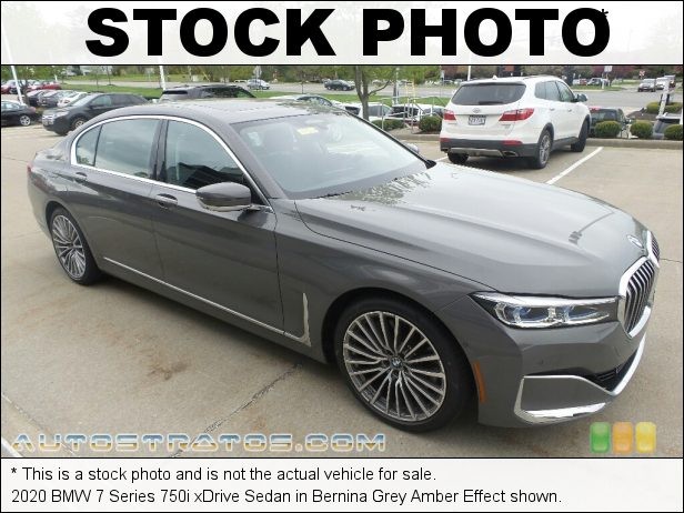 Stock photo for this 2020 BMW 7 Series 750i xDrive Sedan 4.4 Liter DI TwinPower Turbocharged DOHC 32-Valve VVT V8 8 Speed Automatic
