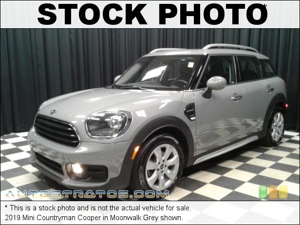 Stock photo for this 2019 Mini Countryman Cooper 1.5 Liter TwinPower Turbocharged DOHC 12-Valve VVT 3 Cylinder 6 Speed Automatic