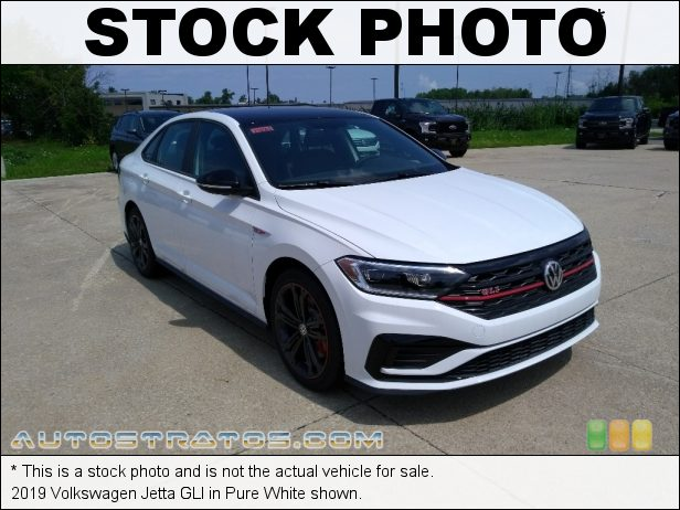 Stock photo for this 2019 Volkswagen Jetta GLI 2.0 Liter TSI Turbocharged DOHC 16-Valve VVT 4 Cylinder 6 Speed Manual