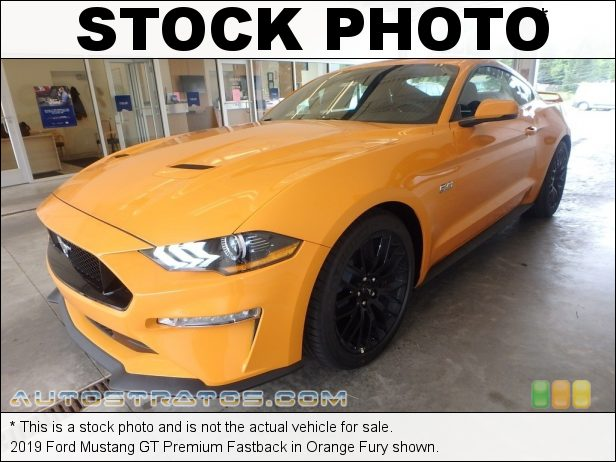 Stock photo for this 2019 Ford Mustang  5.0 Liter DOHC 32-Valve Ti-VCT V8 6 Speed Manual