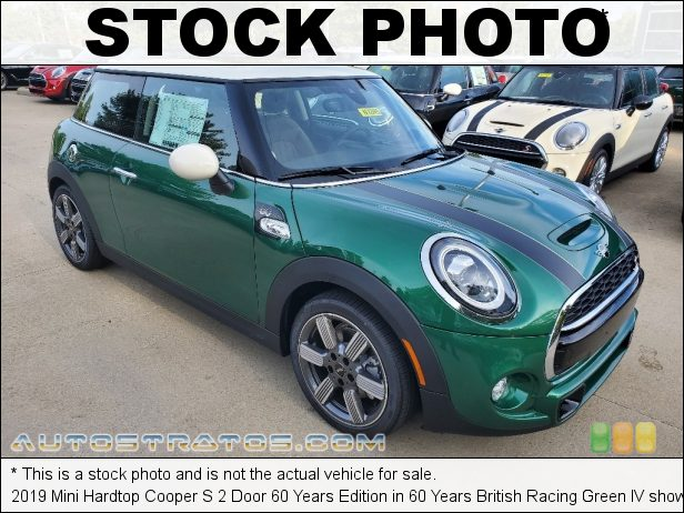 Stock photo for this 2019 Mini Hardtop Cooper S Door 2.0 Liter TwinPower Turbocharged DOHC 16-Valve VVT 4 Cylinder 6 Speed Automatic