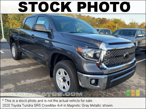 Stock photo for this 2020 Toyota Tundra 4x4 5.7 Liter i-Force DOHC 32-Valve VVT-i V8 6 Speed ECT-i Automatic