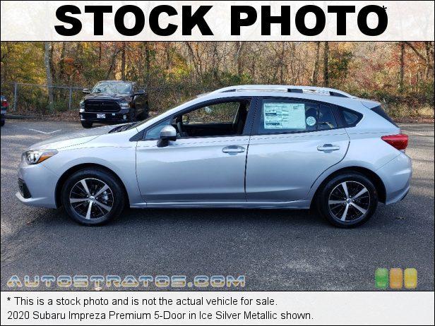 Stock photo for this 2020 Subaru Impreza Premium 5-Door 2.0 Liter DOHC 16-Valve VVT Flat 4 Cylinder Lineartronic CVT Automatic