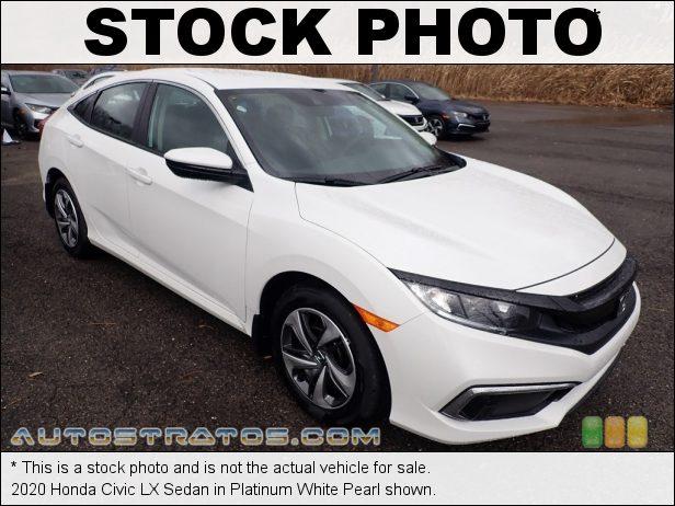 Stock photo for this 2020 Honda Civic LX Sedan 2.0 Liter DOHC 16-Valve i-VTEC 4 Cylinder CVT Automatic