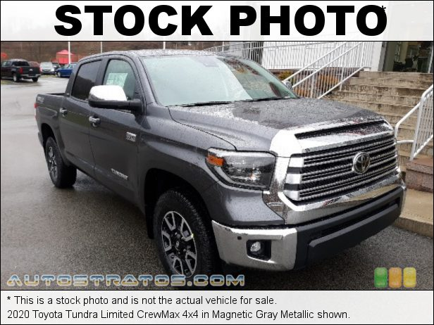 Stock photo for this 2020 Toyota Tundra Limited CrewMax 4x4 5.7 Liter i-Force DOHC 32-Valve VVT-i V8 6 Speed ECT-i Automatic