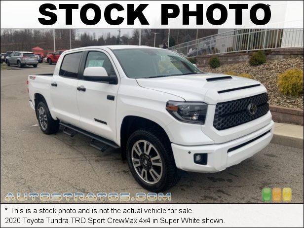 Stock photo for this 2020 Toyota Tundra CrewMax 4x4 5.7 Liter i-Force DOHC 32-Valve VVT-i V8 6 Speed ECT-i Automatic