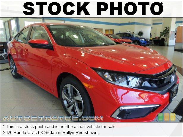 Stock photo for this 2020 Honda Civic LX Sedan 1.5 Liter Turbocharged DOHC 16-Valve i-VTEC 4 Cylinder CVT Automatic