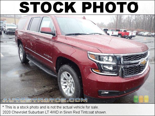Stock photo for this 2020 Chevrolet Suburban LT 4WD 5.3 Liter DI OHV 16-Valve EcoTech3 VVT V8 6 Speed Automatic
