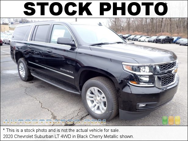 Stock photo for this 2020 Chevrolet Suburban LT 4WD 5.3 Liter DI OHV 16-Valve EcoTech3 VVT V8 6 Speed Automatic