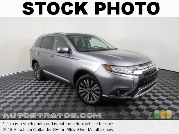 Stock photo for this 2019 Mitsubishi Outlander SEL 2.4 Liter SOHC 16-Valve MIVEC 4 Cylinder CVT Automatic