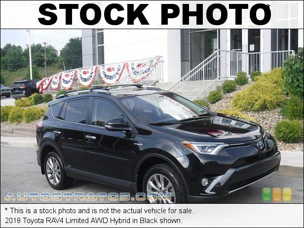 Stock photo for this 2018 Toyota RAV4 Limited AWD Hybrid 2.5 Liter DOHC 16-Valve Dual VVT-i 4 Cylinder Gasoline/Electric CVT Automatic