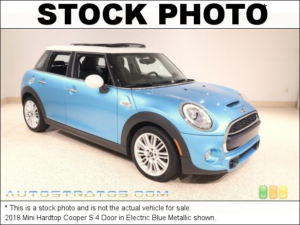 Stock photo for this 2018 Mini Hardtop Cooper S 4 Door 2.0 Liter TwinPower Turbocharged DOHC 16-Valve VVT 4 Cylinder 6 Speed Automatic