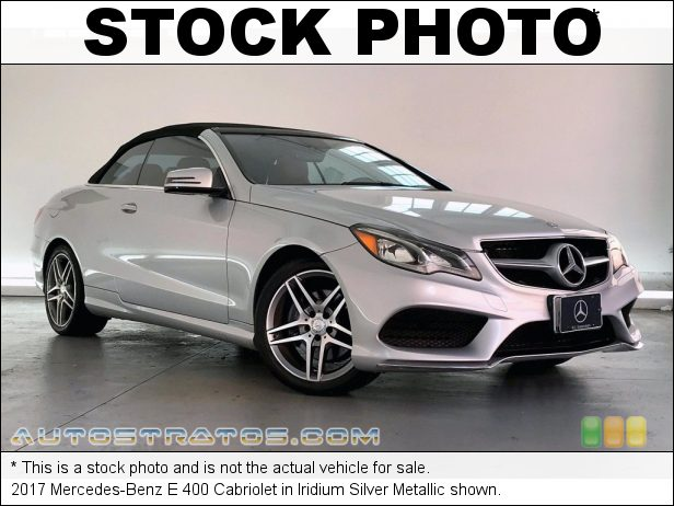 Stock photo for this 2018 Mercedes-Benz E 400 4Matic Coupe 3.0 Liter Turbocharged DOHC 24-Valve VVT V6 9 Speed Automatic