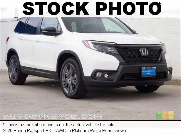 Stock photo for this 2020 Honda Passport EX-L AWD 3.5 Liter SOHC 24-Valve i-VTEC V6 9 Speed Automatic