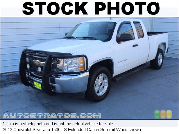 Stock photo for this 2012 Chevrolet Silverado 1500 LS Extended Cab 4.8 Liter OHV 16-Valve VVT Flex-Fuel V8 4 Speed Automatic