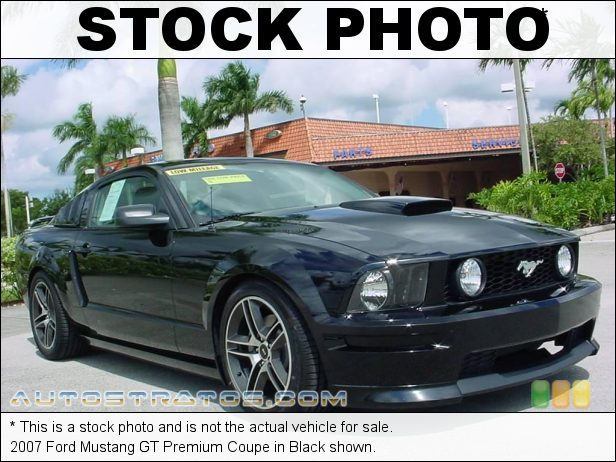 Stock photo for this 2007 Ford Mustang GT Premium Coupe 4.6 Liter Roush Supercharged SOHC 24-Valve VVT V8 5 Speed Automatic