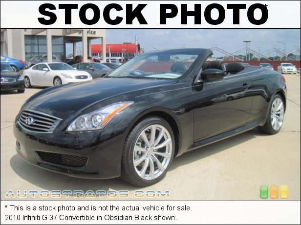 Stock photo for this 2010 Infiniti G 37 Convertible 3.7 Liter DOHC 24-Valve CVTCS V6 7 Speed ASC Automatic