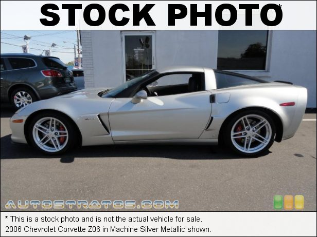 Stock photo for this 2006 Chevrolet Corvette Z06 7.0 Liter OHV 16-Valve LS7 V8 6 Speed Manual