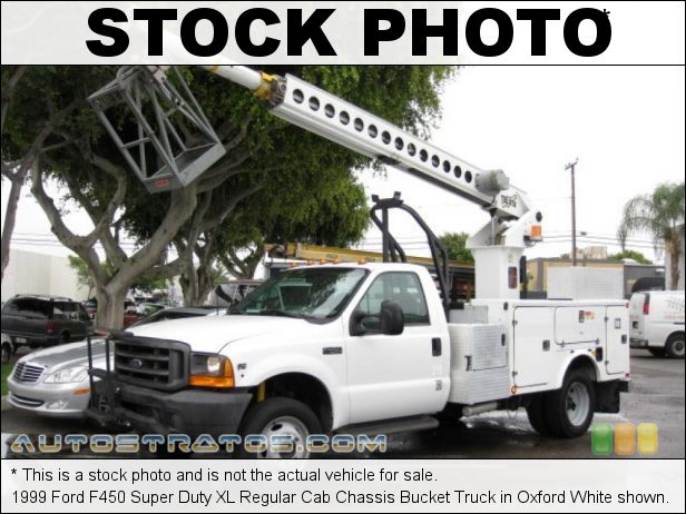 Stock photo for this 1999 Ford F450 Super Duty XL Regular Cab Truck 6.8 Liter SOHC 20-Valve V10 4 Speed Automatic