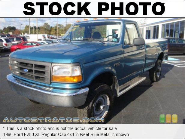 Stock photo for this 1994 Ford F250 XLT Regular Cab 4x4 5.8 Liter OHV 16-Valve V8 4 Speed Automatic