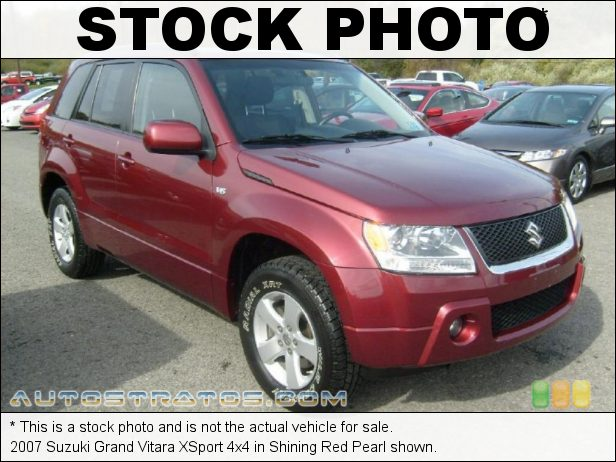 Stock photo for this 2008 Suzuki Grand Vitara XSport 4x4 2.7 Liter DOHC 24 Valve V6 5 Speed Automatic