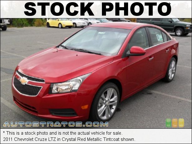 Stock photo for this 2011 Chevrolet Cruze LTZ 1.4 Liter Turbocharged DOHC 16-Valve VVT ECOTEC 4 Cylinder 6 Speed Automatic