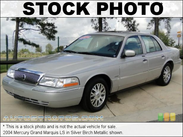 Stock photo for this 2005 Mercury Grand Marquis LS 4.6 Liter SOHC 16 Valve V8 4 Speed Automatic