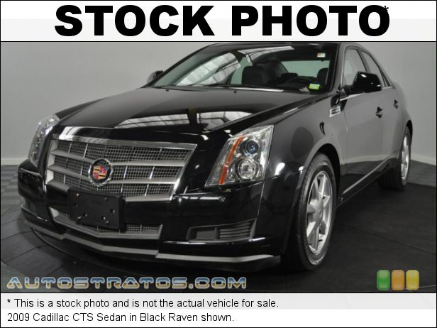 Stock photo for this 2009 Cadillac CTS Sedan 3.6 Liter DOHC 24-Valve VVT V6 6 Speed Automatic
