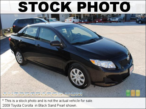 Stock photo for this 2009 Toyota Corolla  1.8 Liter DOHC 16-Valve VVT-i Inline 4 Cylinder 4 Speed Automatic