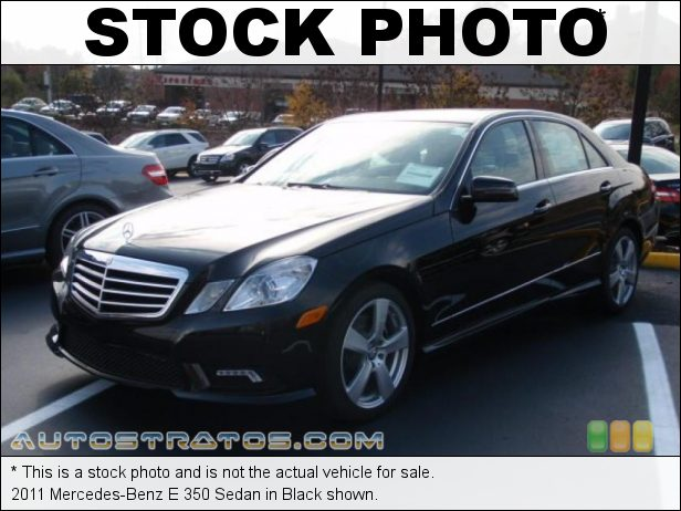 Stock photo for this 2011 Mercedes-Benz E 350 Sedan 3.5 Liter DOHC 24-Valve VVT V6 7 Speed Automatic