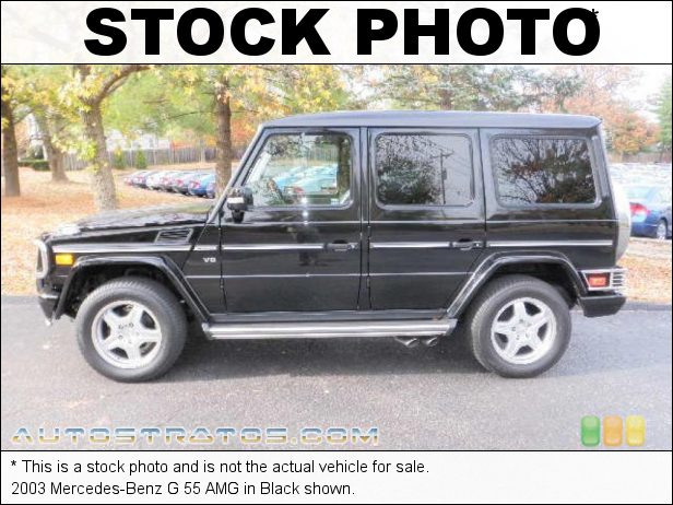 Stock photo for this 2003 Mercedes-Benz G 55 AMG 5.4 Liter AMG SOHC 24-Valve V8 5 Speed Automatic