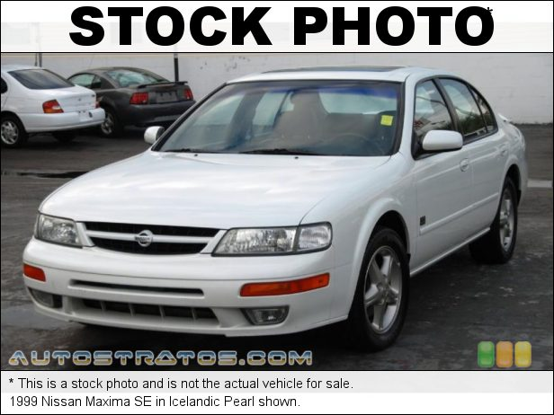 Stock photo for this 1999 Nissan Maxima  3.0 Liter DOHC 24-Valve V6 4 Speed Automatic
