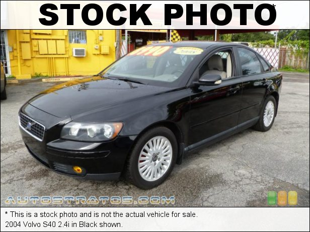 Stock photo for this 2004 Volvo S40 2.4i 2.4 Liter DOHC 20V Inline 5 Cylinder 5 Speed Automatic